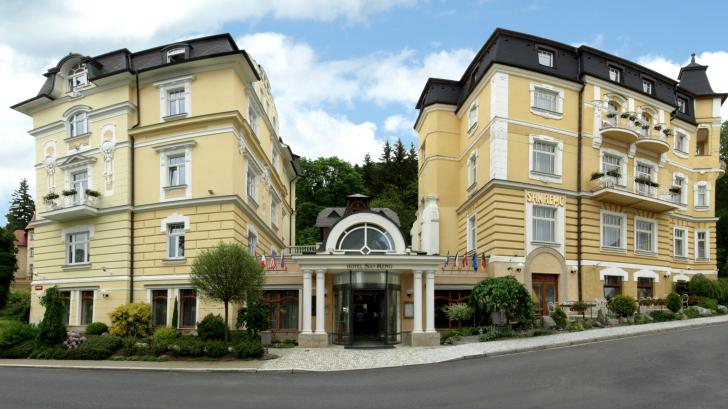 hotel v Mariánských Lázních