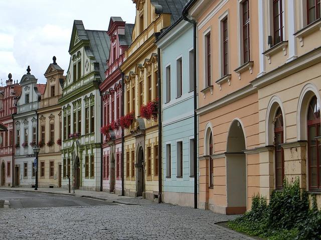 penziony v Hradci Králové