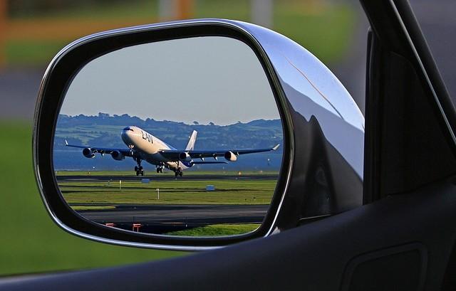 parkování na letišti Praha